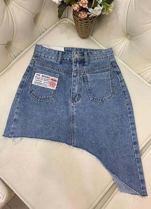 Юбка джинсовая новинка