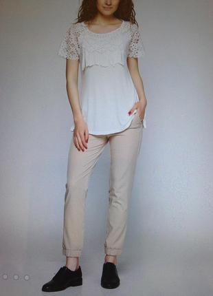 Шикарные брюки на манжете