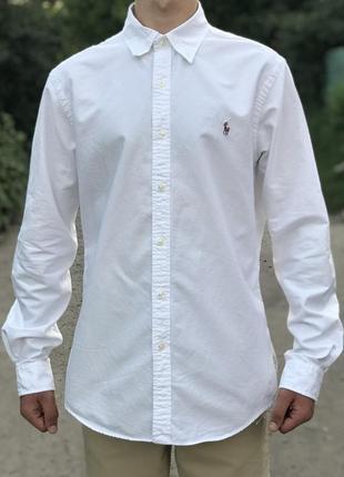 Мужская оригинальная рубашка ralph lauren