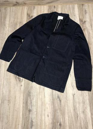 Мужской джинсовый пиджак на селвидже g star raw selvedge denim jacket by marc newson