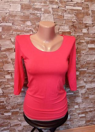 Турция, новая! шикарная, красивая футболка,блуза, боди,блузочка,три четверти