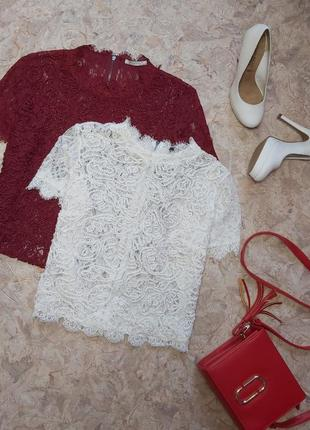Стильный брендовый топ блуза от zara