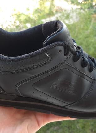 Slazenger мужские кожаные кроссовки