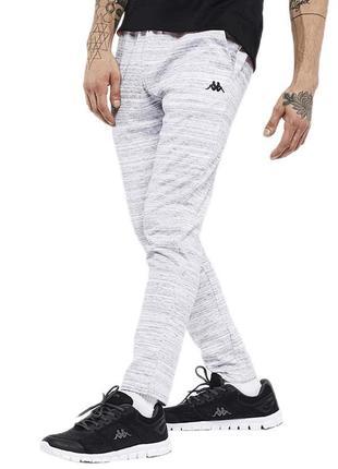 Легкие оригинальные штаны джоггеры kappa salecchio orange