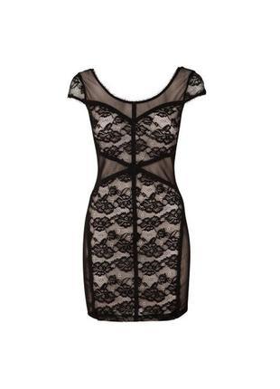 Кружевное платье в бельевом стиле h&m