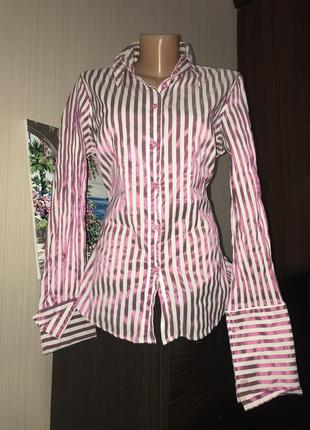 Шикарная блуза в полоску