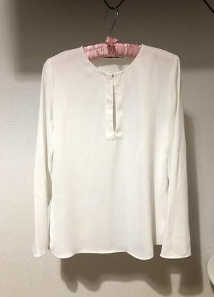 Идеальная белая блузка mango s