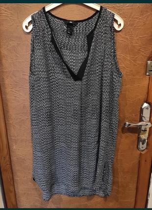Блуза h&m серая 46 48 размер