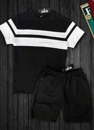 Комплект футболка   шорты asos
