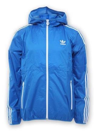 Пушечная ветровка (дождевик) от adidas colorado men's windbreaker rain jacket blue