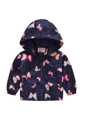 Ветровка , куртка летняя для девочки 90-130