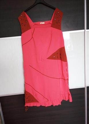 Новый летний яркий сарафан, платье zemal