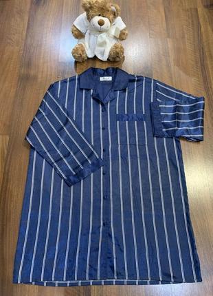 Шикарная атласная ночная рубашка