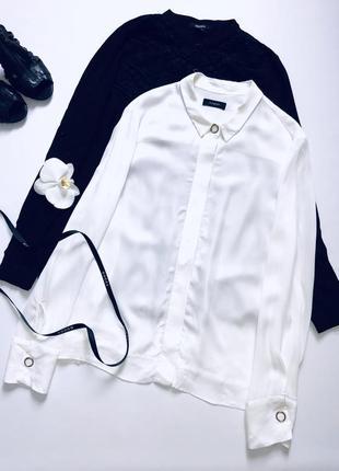 Идеальная белая блуза