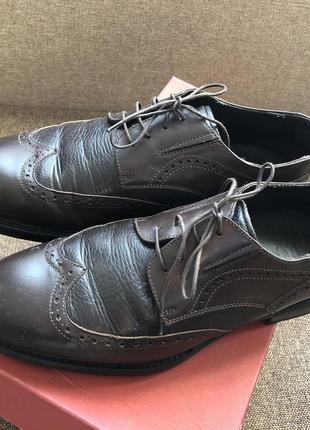 Італійське взуття шкіра 42 rossi ramsay