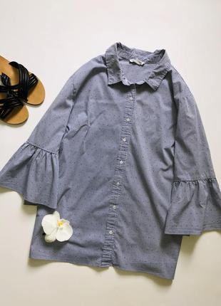 Супер стильная рубашка блуза большого размера
