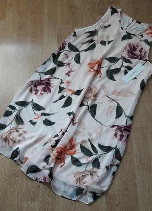 Легкое и нежное летнее платье calvin klein