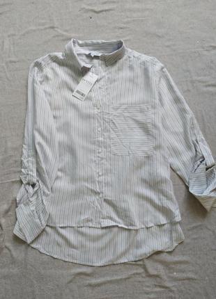 Сорочка рубашка блуза в полоску next
