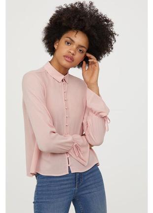 Блузка з довгим рукавом h&m