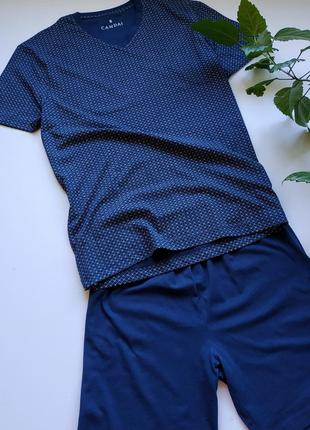Котоновая пижама с&а