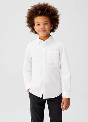 Aletta made in italy рубашка белая 5 лет, 110, новая с бирками