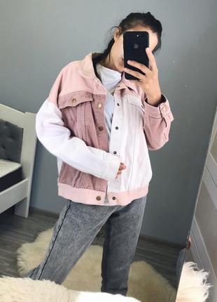 """Джинсовая куртка «momokrom"""""""
