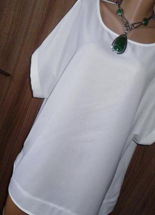 Capsule блуза рр 28 белая