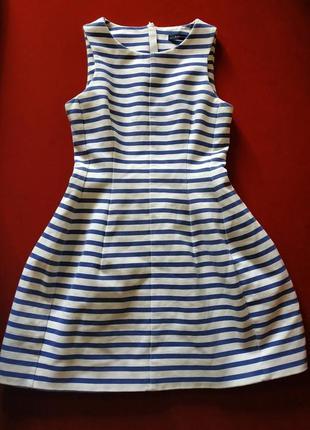 Платье zara в полоску