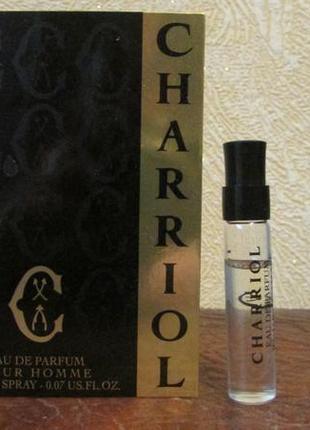 Charriol eau de parfum pour homme     2 мл.