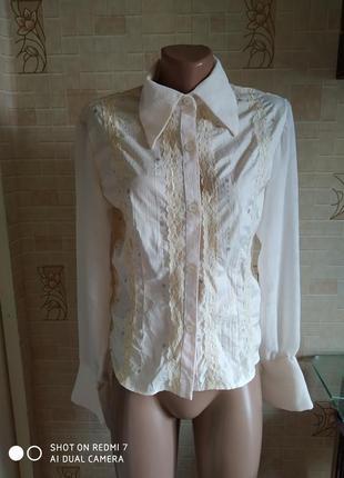 Рубашка в винтажном стиле