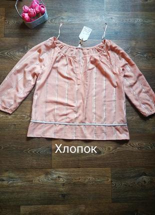 Блузка из натуральной ткани