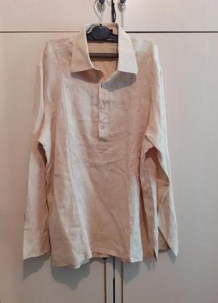 Рубашка лен canivro унисекс