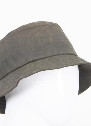 Barbour вощенная шляпа винтаж англия панама