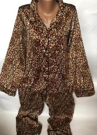 Крутая легкая пижама атлас