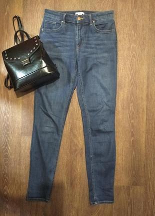❤️❤️❤️ завышеные джинсы скинни h&m 38 размер