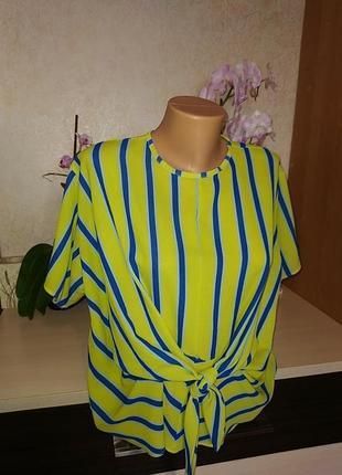 Яркая блуза/футболка