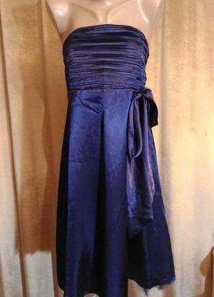 Красивое вечернее, выпускное, платье свидетельницы на свадьбу, bonprix, размер 14 xl