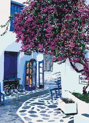 Картины по номерам солнечная греция 40*50 кно2168