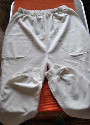 Шикарные спортивные штаны carla mara турция 52/54 р-р1 фото