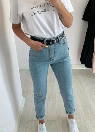Джинсы zara джинсы мом момы джинсы mom