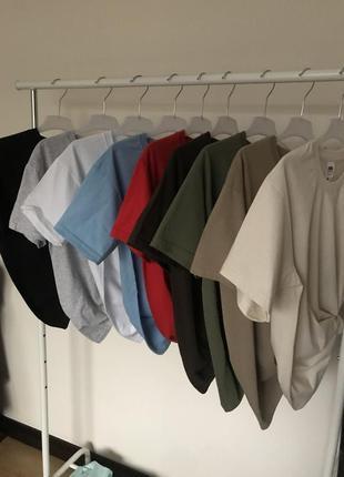 Базовые футболки 100% котон