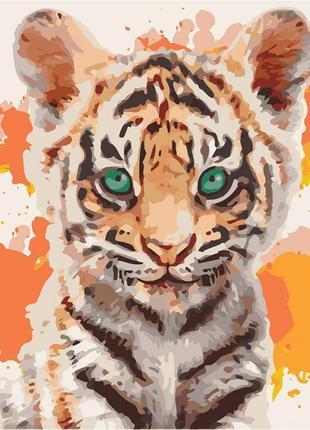 Картина по номерам тигрюля 40*40 кно4070