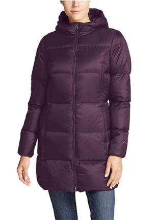 Куртка женская, пуховик eddie bauer, размер м