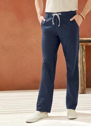 Мужские льняные брюки штаны  livergy германия скидка!