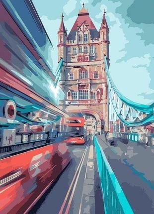 Картина по номерам идейка динамический лондон 40*50 кно3570