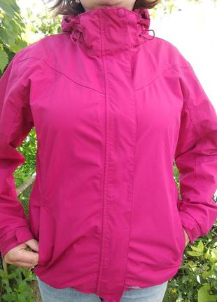 Куртка вітрівка - trespass, нова , малинова!