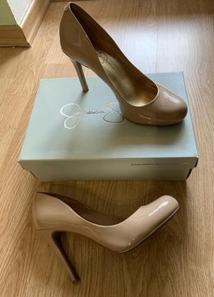 Кожаные туфли jessica simpson