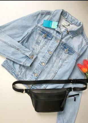 Куртка джинсовая светлая деним