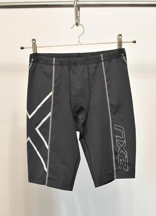 Бігові компресійні шорти шорты бег 2xu running shorts - l