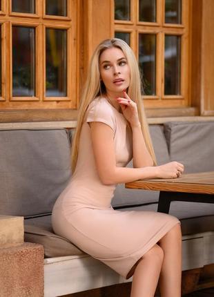 Базовое платье футляр облегающее с идеальной посадкой